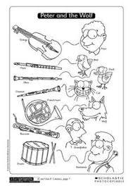 Silhouet Peter En De Wolf Google Zoeken Lessons Music History