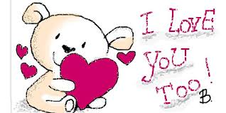 i love you too love