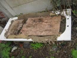 an old bathtub can work very well as a worm farm