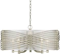 contemporary drum lighting. Golden Lighting 5516-5-WG-SHR Zara Contemporary White Gold Drum Ceiling Light. Loading Zoom A