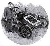 three wheeler folding city car zaschka three wheeled car 1929 engelbert zaschka german inventor and his folding three wheeler