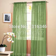 Compare Prices On Light Green Curtains Online Shopping Buy Low