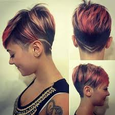 Pixie Cut With Undercut Design Pin On Hair