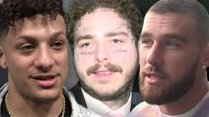 <b>Post Malone</b> Reveals Pic of Patrick Mahomes, Kelce Tattoos After ...