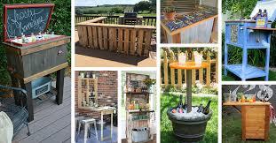 32 best diy outdoor bar ideas and designs for 2018 diy diy patio bar14