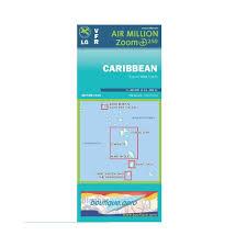 Caribbean Vfr 1 250 000 Chart 2018