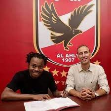 No announcement but leaked photo confirms Percy Tau has joined Al Ahly