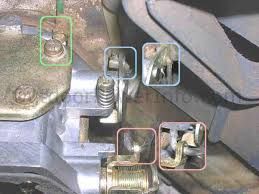 disassembly cleaning and repair of kohler command v twin nikki kohler command v twin nikki carburetor carb linkages
