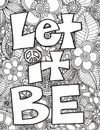Small Picture Adult Coloring Page Adult coloring Language arts and Language
