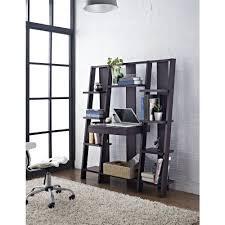 furniture ladder shelves. altra furniture tiffany espresso ladder bookcase9802196 the home depot shelves e
