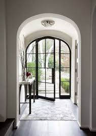 black glass front door. Stunning Metal Front Doors Steel Security Door Black And Glass With