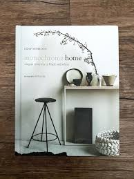 50% discount) Monochrome Home Coffee Table Book by Hilary Robertson, Books  & Stationery, Books on Carousell