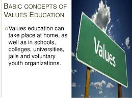 values education 4 basic concepts of values education