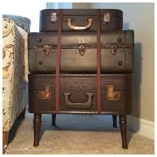 Hometalk | Vintage Suitcase Side Table