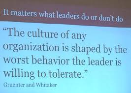 life of an educator images to share at your next faculty it matters what leasers do or don t do the culture of any organization is shaped by the worst behavior the leader is wiling to tolerate