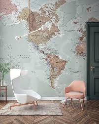 lilac wallpapers a stunning bold wallpaper wall paper map world mural home generator maps countries continents world map wallpaper wall