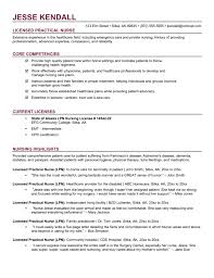 lpn resume skills sample job and resume template