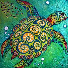 sea turtles paintings abstract turtle art best ideas on painting artwork sea turtles paintings