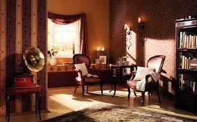 Living Room Classic Design Classic Living Room Wallpaper