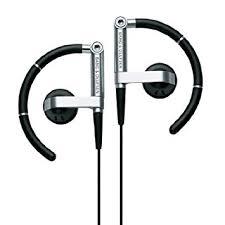 bang and olufsen earphones. bang and olufsen a8 earhook headphone with mic (aluminium black) earphones amazon.in