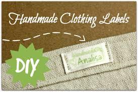 Diy Clothing Label Handmade Clothing Labels Parental Perspective