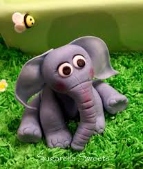 Cake Decorating Animal Figures Cake Decorating How To Make An Elephant Cake Topper Youtube
