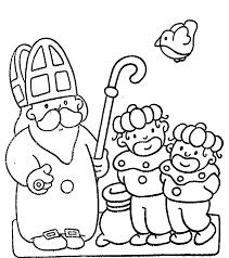 Leuke Kleurplaten Om Te Kleuren Voor Sinterklaas