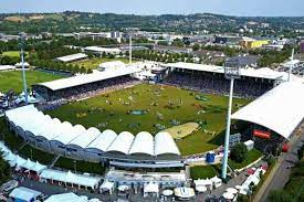 The chio aachen is in show jumping and dressage the most prestigious horse show in europe. Chio Aachen
