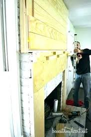 build a fireplace build fireplace mantel over brick how to build a fireplace mantel shelf over