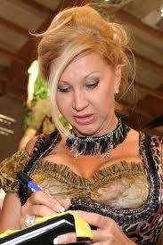 Carmen Geiss presents her Dirndl fashion on March 1, 2013 in Salzburg, Austria. Within the trade fair 'Tracht and Country Fruehjahr 2013' Carmen Geiss ... - Carmen%2BGeiss%2BPresents%2BDirndl%2BFashion%2Bsv9pIAlG9Jxl