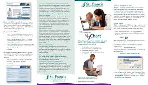 Mychart Brochure St Francis Hospital Health Services