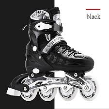Inline Skate/<b>Rollerblades</b>,with Adjustable Size And <b>Flashing</b> Light ...