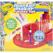 Shipping Chart Maker Details About Crayola Marker Maker Wacky Tips New Free Shipping