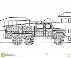 Camion Pompieri Da Colorare Portalebambini