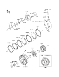 Powersports kawasaki zx10r 2004 clutch 2006 zx10r clutch diagram 7 at 2007 zx10r