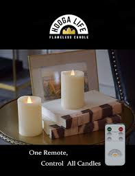 Remote Control Tea Lights Bed Bath And Beyond Flameless Candle Remote Control Adapt For Hoogalife Candles One Remote Controls All Hoogalife Candles Includes Remote Switch And Multiple Timing