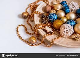 Perlen Gold Kugeln Silvester Compositionpine Zapfen Und
