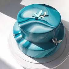 mirror glaze cake. are mirror cakes the latest wedding cake trend glaze t