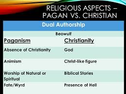 Beowulf Christianity Vs Paganism Quotes Best of Paganism Vs Christianity Coursework Service Ffpaperkaii