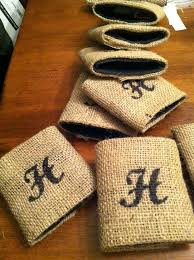 305 best my koozie obsession images on pinterest vinyl crafts Wedding Koozies Lafayette La diy why spend more diy burlap wrapped koozies for wedding favors Personalized Wedding Koozies