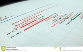 Work Planning Stock Image Image Of Chart Planning Work