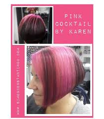 Love This Pink Cocktail Hair Colour