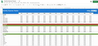 Spreadsheet Tracking Spending Log Free Monthly Expense Tracking Spreadsheet And