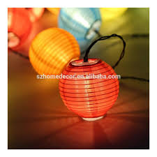 Led Solar Lampion Lichtslingers Decoratie Voor Indoor Buiten Balkon Tuin Party Vakantie Ballenlamp Buy Solar Led Guirlande String Lichtled Papier