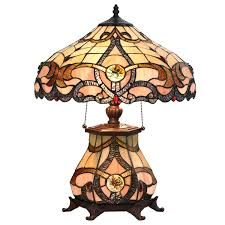 Victorian Stained Glass Lamp Ships Only In Usa