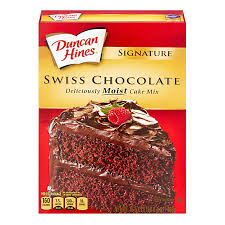 Duncan Hines Signature Swiss Chocolate Cake Mix 1525oz 432g