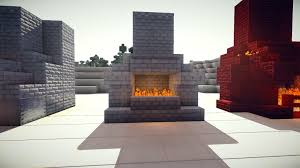 How To Make A Working Minecraft Fireplace That Turns OnOff  YouTubeFireplace In Minecraft