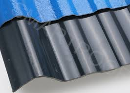 solid layer asa plastic sheet for living house roof corrugated plastic roof panels