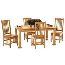 american amish grand mission dining leg table with four mission style side chairs darvin furniture dining 5 piece set