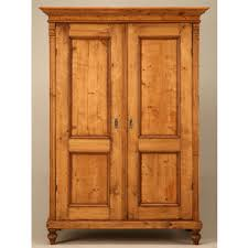 antique english pine armoire with pocket doors antique english pine armoire